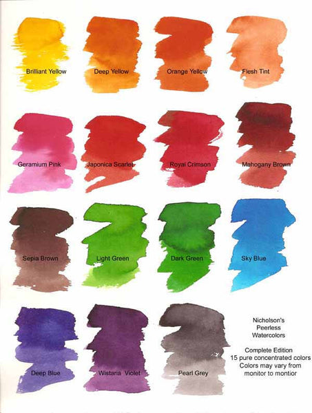 Peerless Water Color Complete Edition Book 15