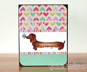 Newton's Nook Designs - DELIGHTFUL DOXIES Clear Stamps