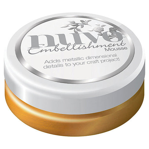 Nuvo Embellishment MOUSSE - INDIAN GOLD - By Tonic Studio