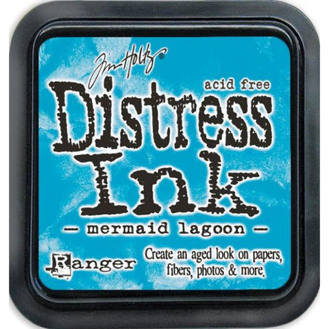 Tim Holtz Ranger Distress Ink Pad - MERMAID LAGOON  - March 2015 - Hallmark Scrapbook - 1