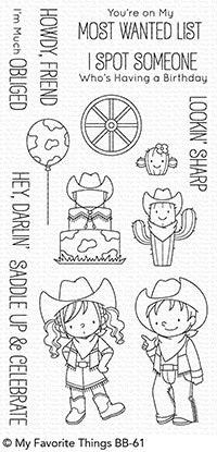 My Favorite Things -  SADDLE UP AND CELEBRATE - Stamp Set