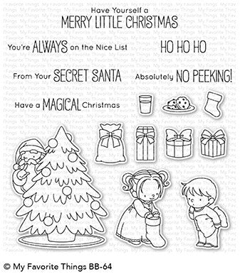 My Favorite Things - SECTRET SANTA - Clear Stamps