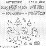 My Favorite Things - READY SET SNOW Clear Stamps