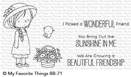 My Favorite Things - BRING OUT THE SUNSHINE - Clear Stamp Set