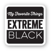 My Favorite Things - Extreme Black HYBRID INK CUBE 1""