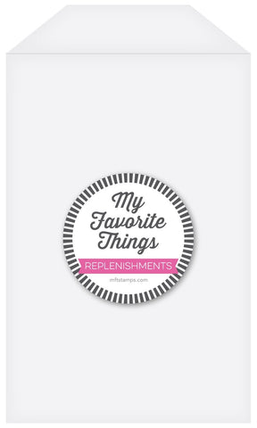 My Favorite Things - Clear Storage Pockets - TALL - 25pk