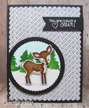 Newton's Nook Designs - DEER FRIEND Clear Stamps Set - 25% OFF!