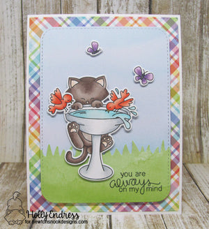 Newton's Nook Designs - NEWTON'S BIRDBATH Stamps Set