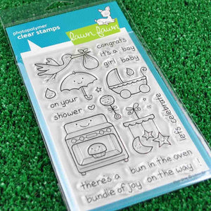 Lawn Fawn - Plus One - CLEAR STAMPS 25 pc - Hallmark Scrapbook - 3