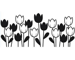 "Darice Embossing Essentials - 4.25"" X 5.75"" Embossing Folder - SPRING TULIPS - Hallmark Scrapbook - 1"