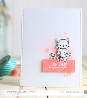 WPlus9 Design Studio - GET WELL GANG Die set - Hallmark Scrapbook - 4