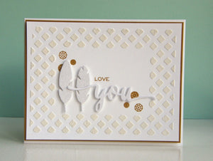 Wplus9 Design Studio - LITTLE BITS Stamp set - Hallmark Scrapbook - 4