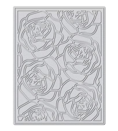 WPlus9 Design Studio - ROSE BACKGROUND Die - Hallmark Scrapbook