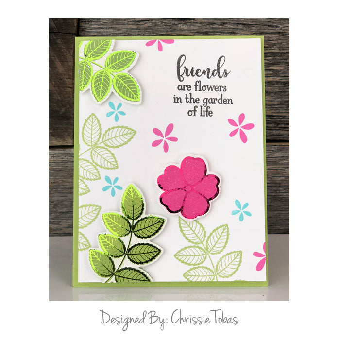 Gina K. Designs - Stamp n Foil Foil-Mates Detail Sheet WHERE FLOWERS BLOOM  - 10 sheets - Therm O Web ecdd8916ae5