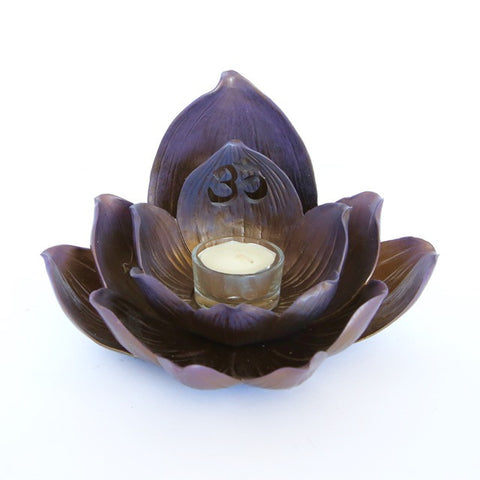 Lotus Candle Holder (tealight)