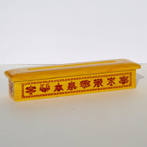 Tibetan Wooden Incense Holder