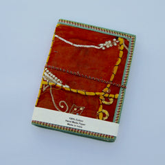 Hand-made Paper Notebooks - Patchwork cover
