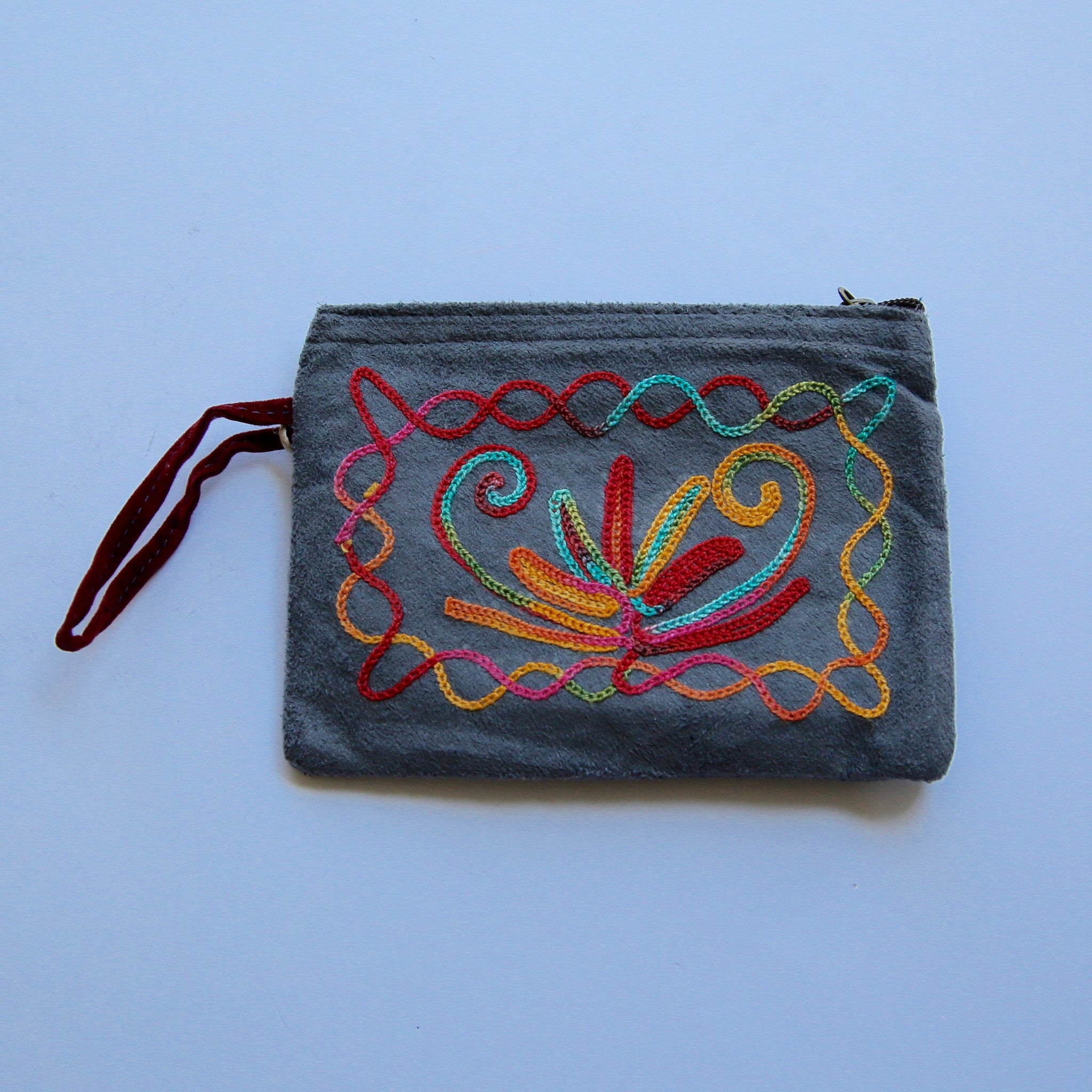 Small Kashmiri Zip Purse