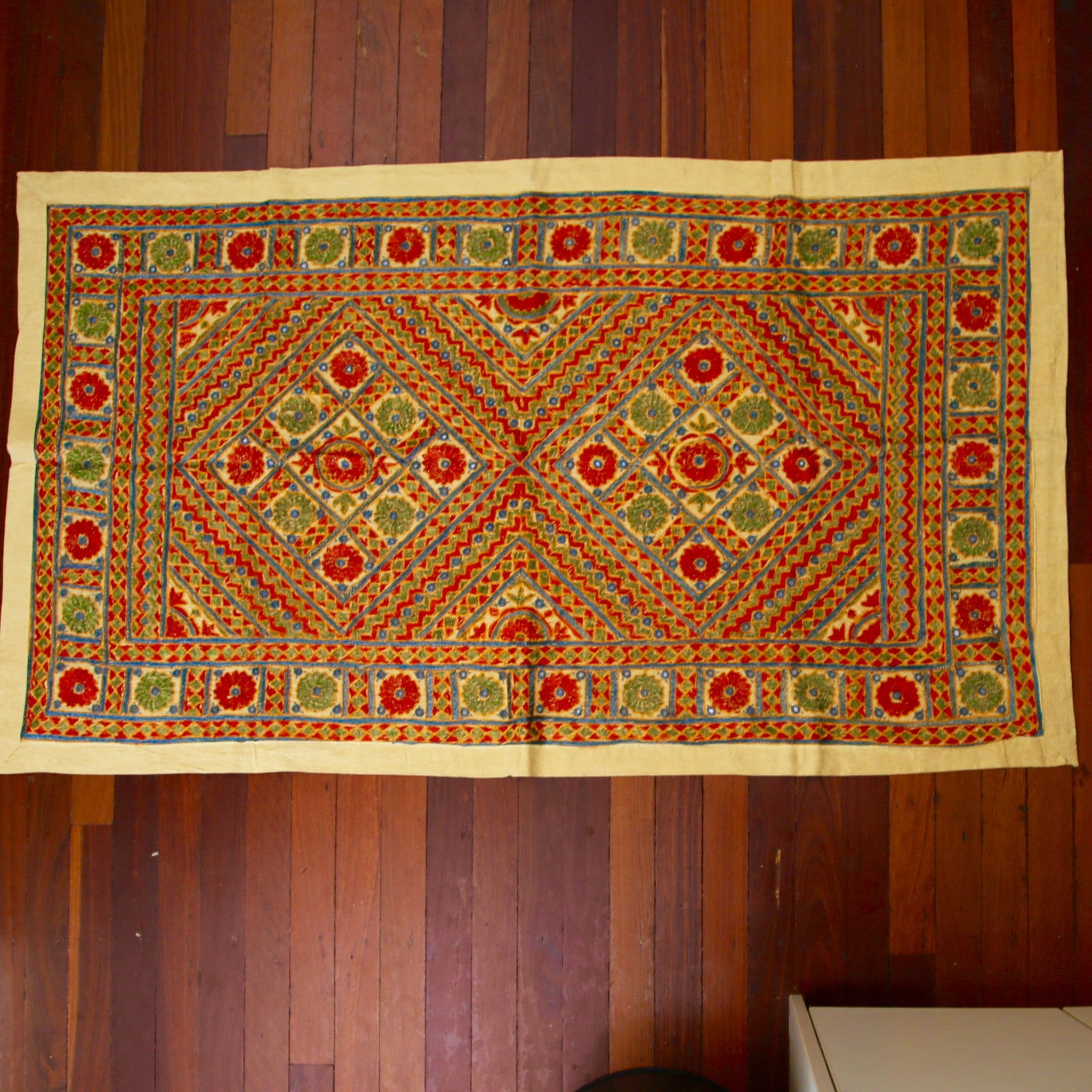 Rajasthani Wall Hanging - Mirror Style