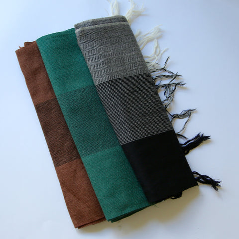 Kullu Wool Scarves - Patterned