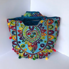 Embroidered Carry-All Bags
