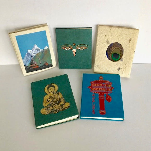 Hand-Made Paper Notebooks