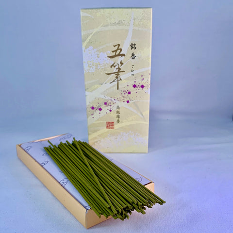 Japanese Boxed Incense - Five Brushstrokes