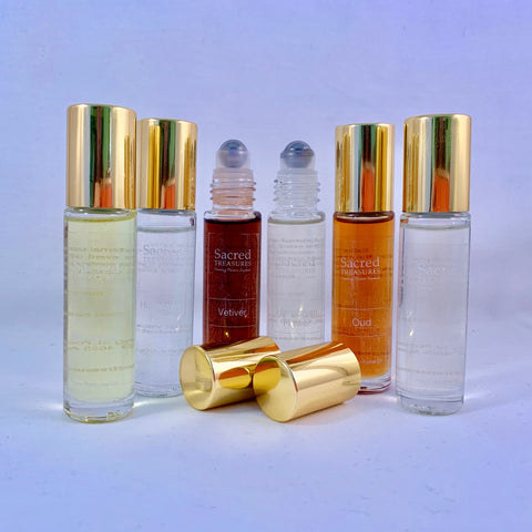 Sacred Treasures Pure Perfume Oil