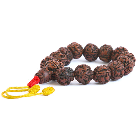 Indian Rudraksha Wrist Mala