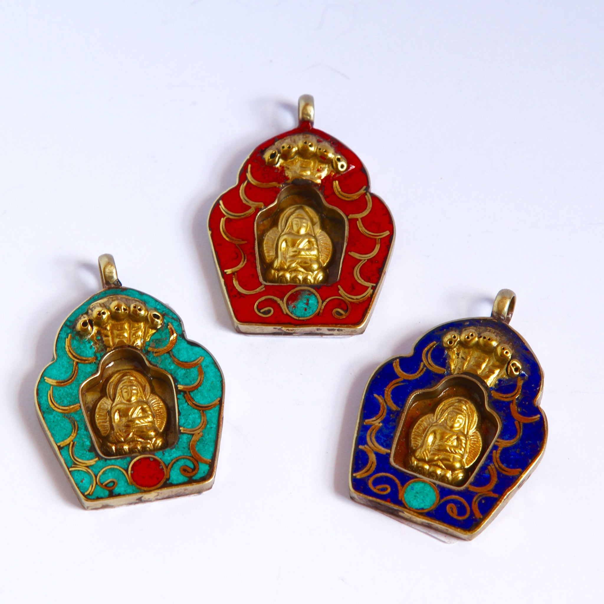 Buddha in Stone Pendants