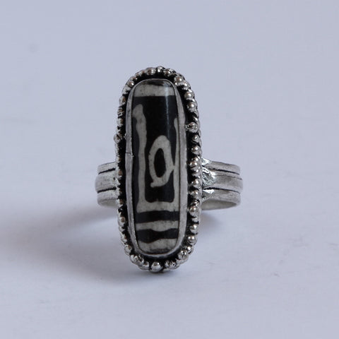 Tibetan Sheep Eye Ring
