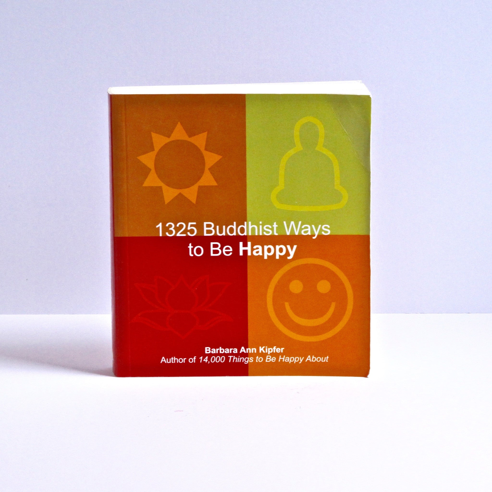1325 Buddhist Ways to Be Happy by Barbara Ann Kipfer