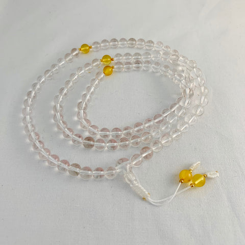 Crystal Mala - Quality by Sacred Treasures