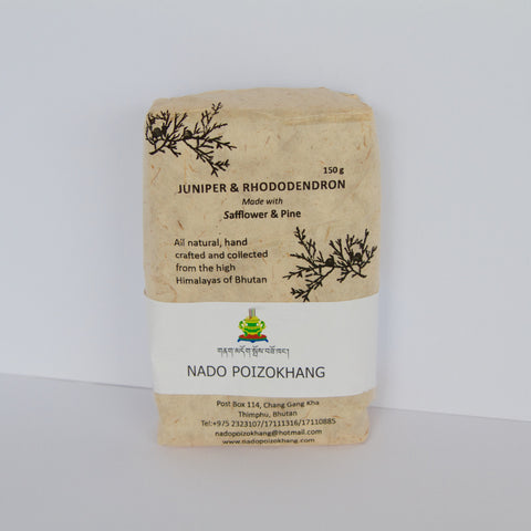 Nado's Bhutanese Sang - Juniper and Rhododendron Incense Powder