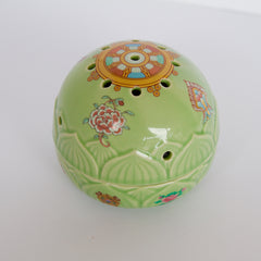 Ceramic Incense Burner - Round shape