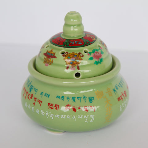 Ceramic Incense Burner -Traditional shape