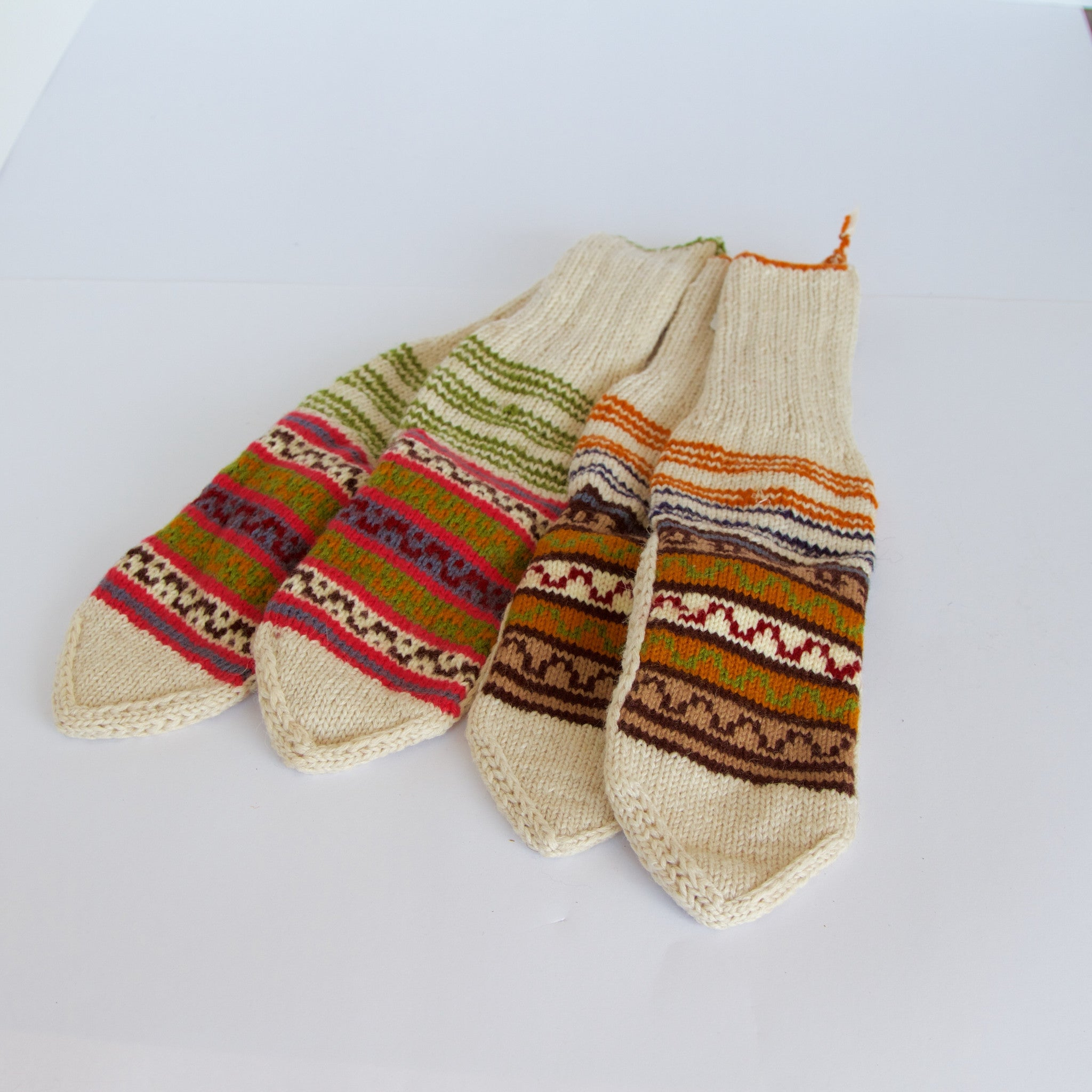 Himalayan Hand-Knitted Woollen Socks