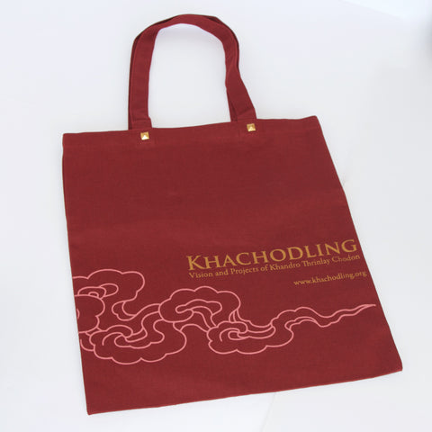 Khachodling Red Canvas Bag