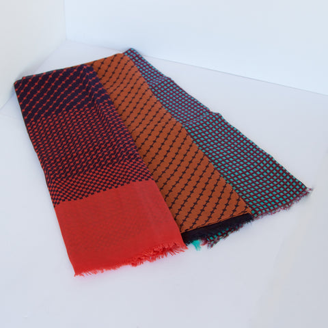 Indian Cotton Shawls - Varying Patterns