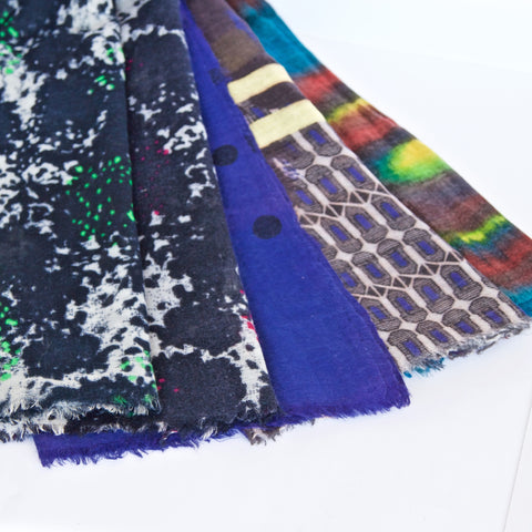 Wool/Silk Scarves