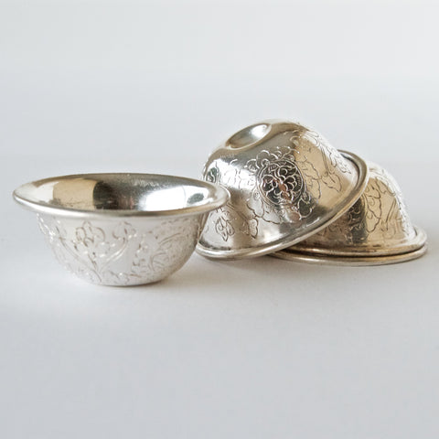 Silver Offering Bowl Sets