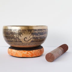 Fireburst of Compassion Singing Bowl (Extra large)