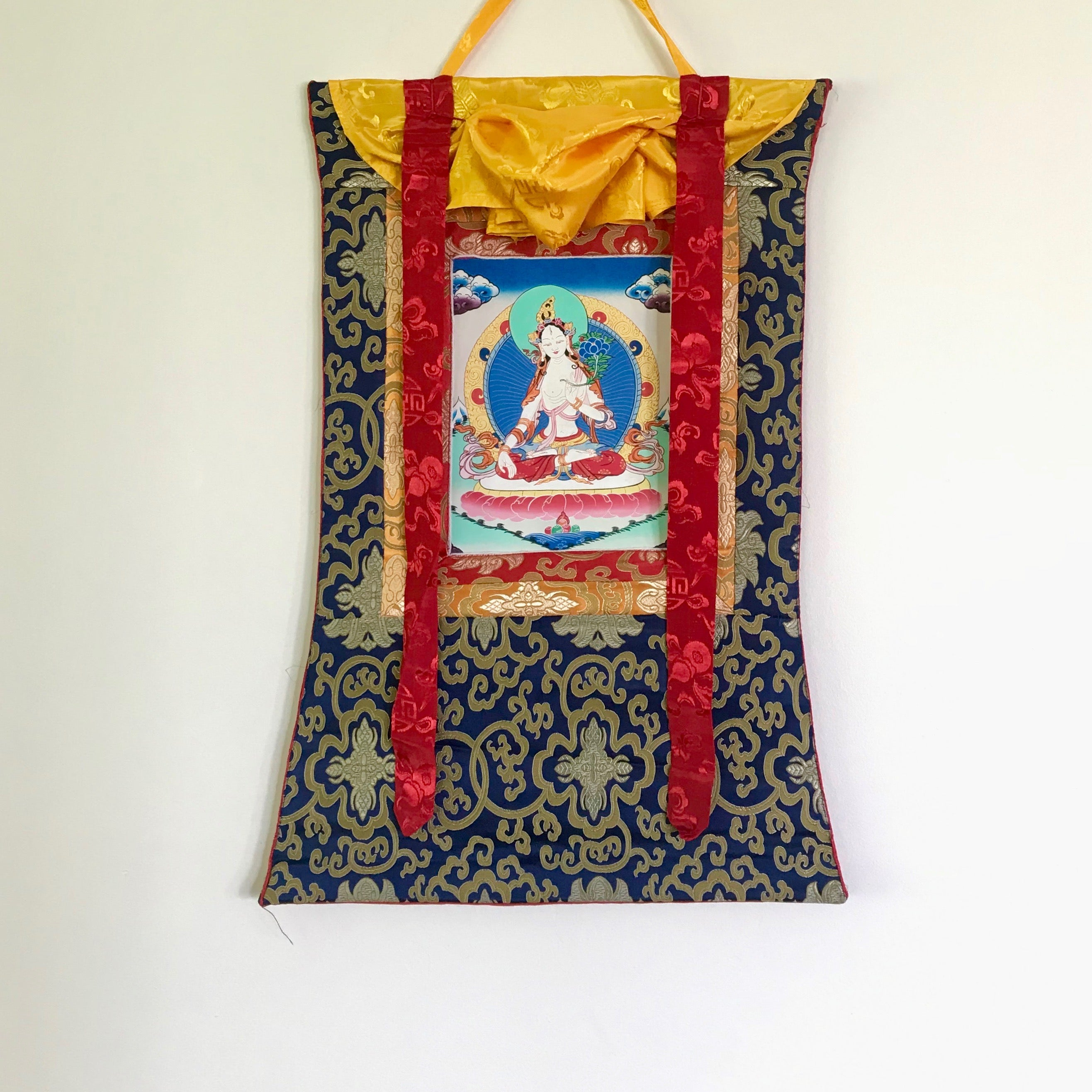 White Tara Thangka