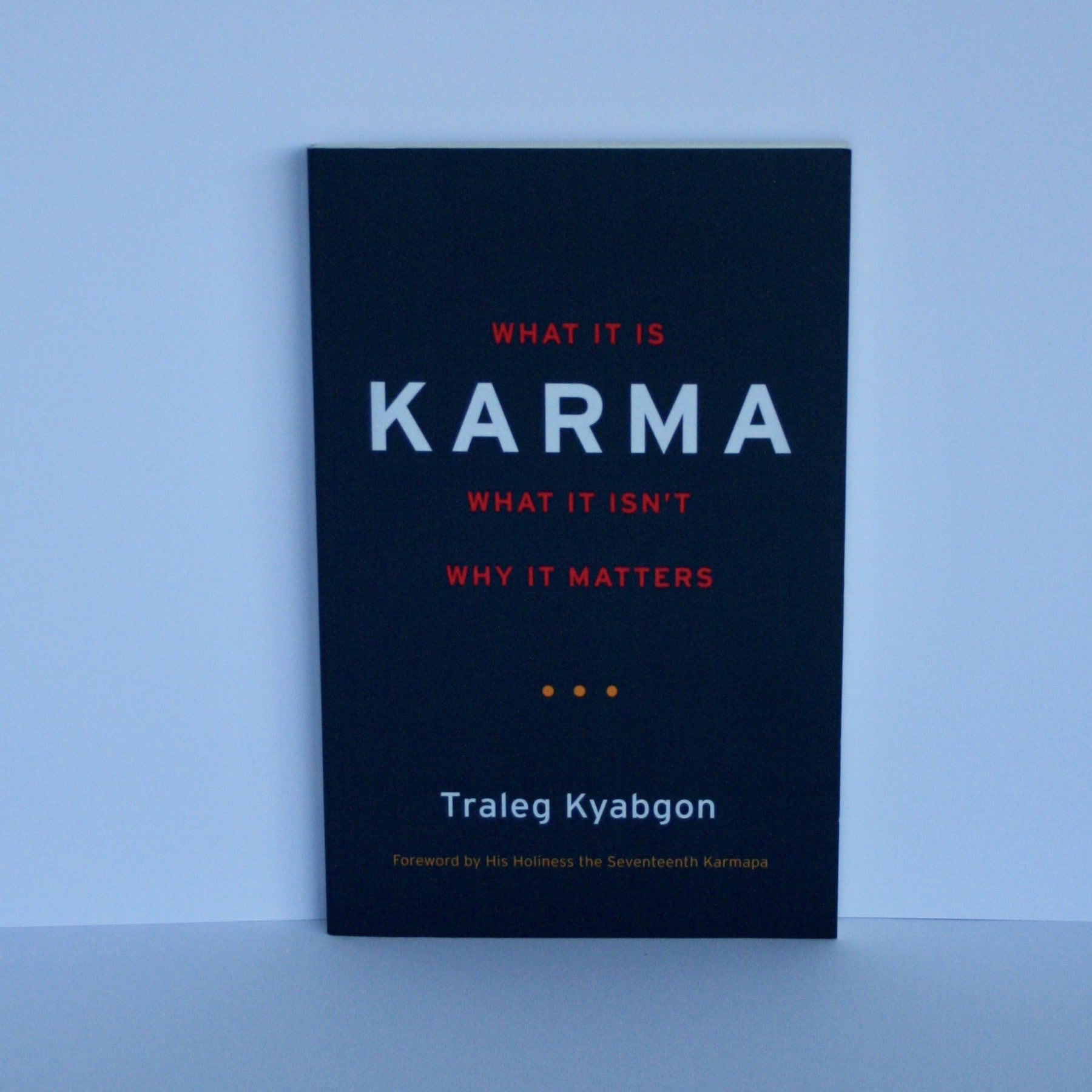 Karma - What It Is, What It Isn't, Why It Matters by Traleg Kyabgon