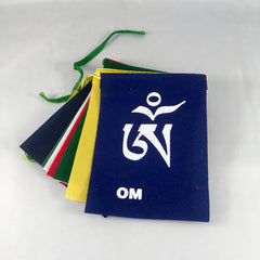 Prayer Flags - Mani Print