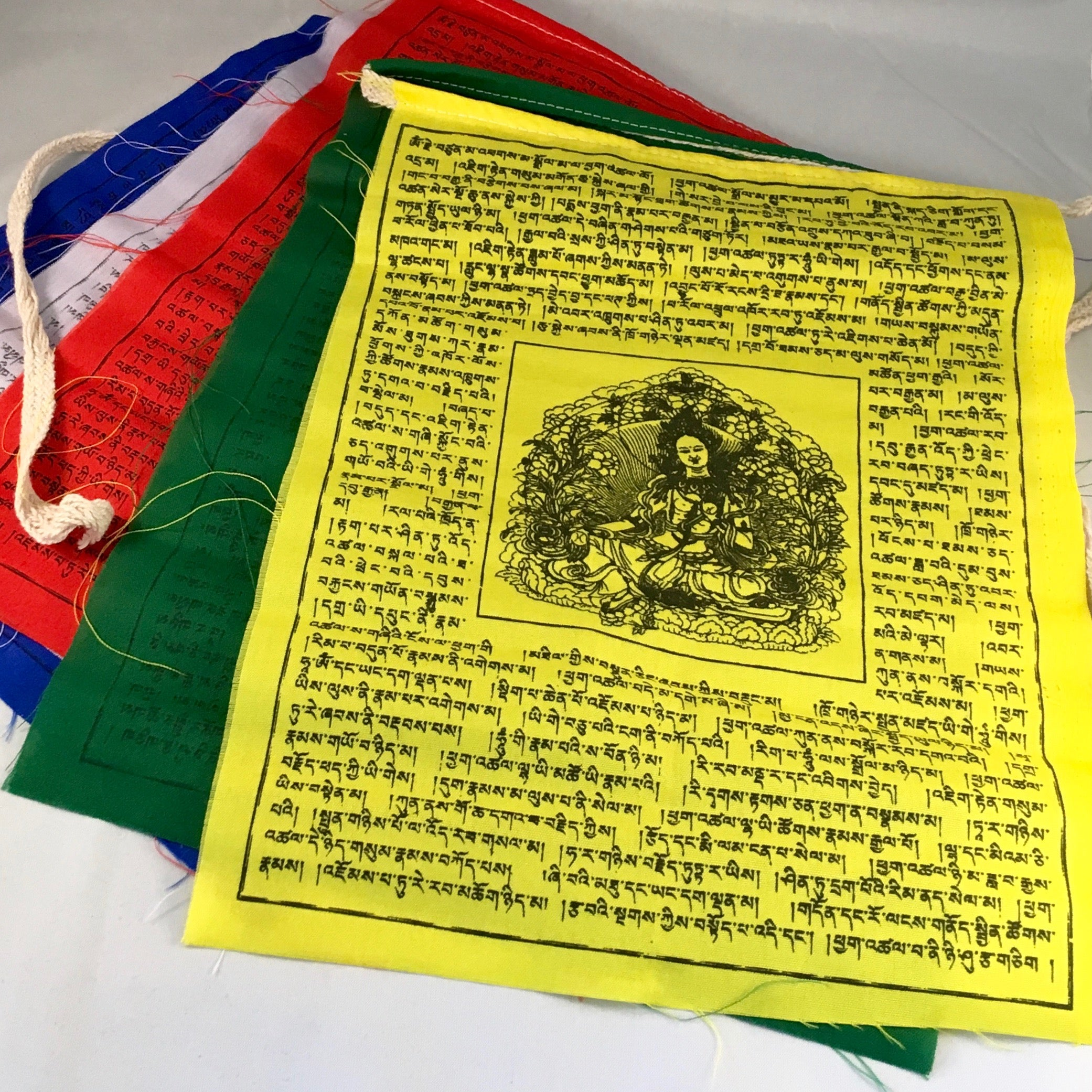 Prayer Flags - Tara Print