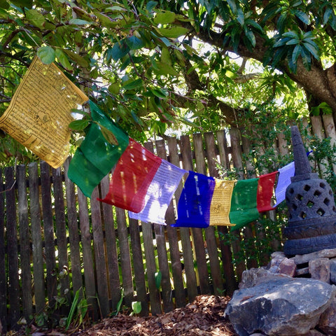 Prayer Flags - Medium - Various Print