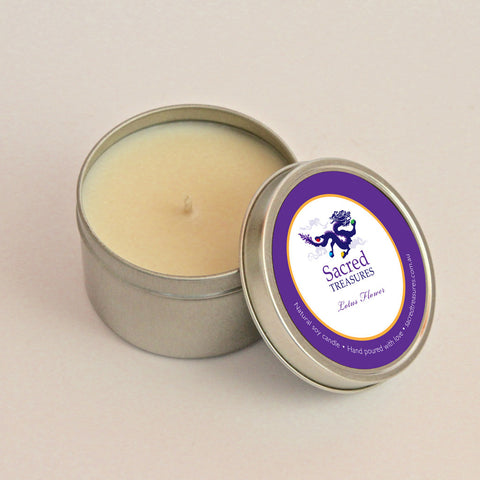 Sacred Treasures Naturally Pure Soy Candle