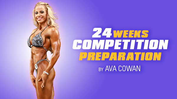 24 Week Competition Preparation Package - Competitor