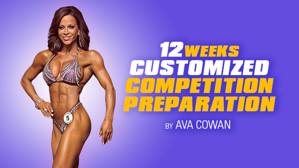 12 Week Customized Competition Preparation - Competitor